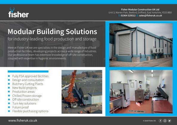 Fisher UK – Modular Building Solutions!